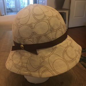 Coach Cloche Hat